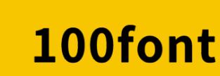 100font